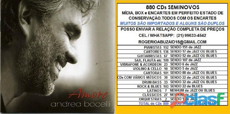 119 cds de cantores vários estilos