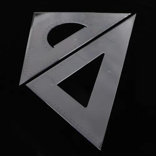 2 pa 45/60 grau geometria triângulo régua desenho desenho