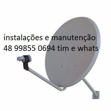 Antenas,instalação,manutenção,apontamento