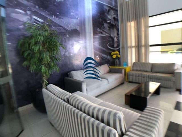 Apartamento no bahia suítes, 1/4 de 50m², nascente, vista