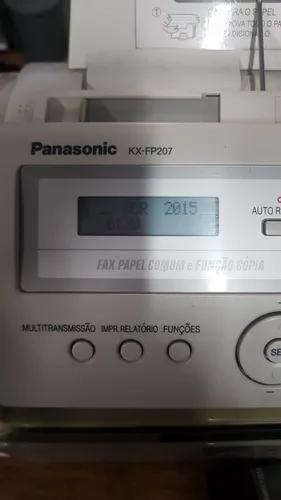 Fax panasonic kx -fp207 usado otimo estado