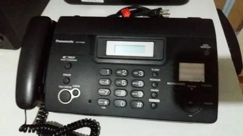Fax panasonic kx-ft932 usado acompanha bobina de papel usado