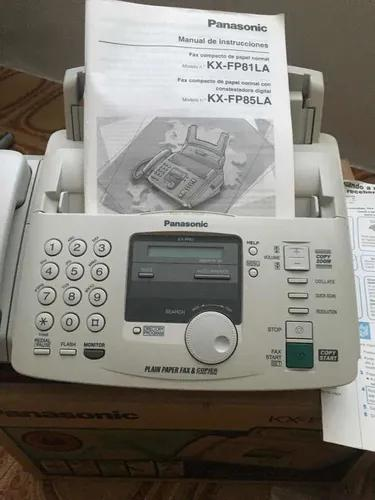 Fax panasonic papel a4 - pouquíssimo uso