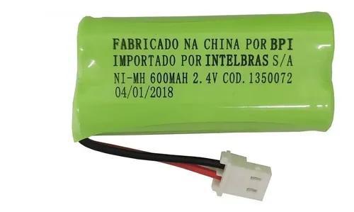 Kit 2 baterias telefone s/fio ts40 ts60 ts3110 - intelbras