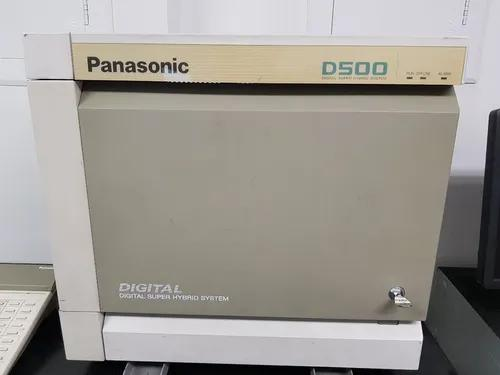 Pabx panasonic d500 digital-30 l/80 r.+ aparel. telefonista