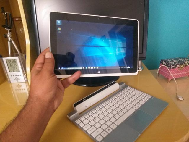 Tablet acer icônia w510 com mancha na tela