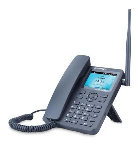 Telefone celular fixo mesa dual chip 7 bandas