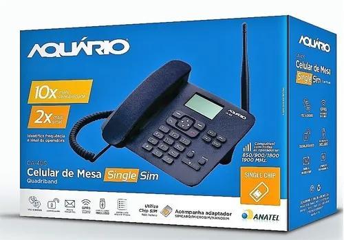 Telefone celular rural de mesa ca-40s aquário desbloqueado