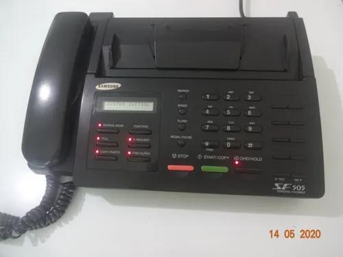 Telefone fax samsung sf 505- (pouco uso)