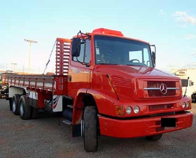 Mb 1620 carroceria truck completo ano 2012