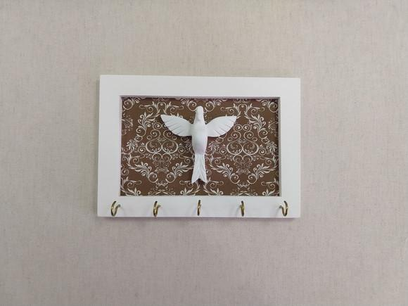 Porta chaves divino espirito santo/presente útil