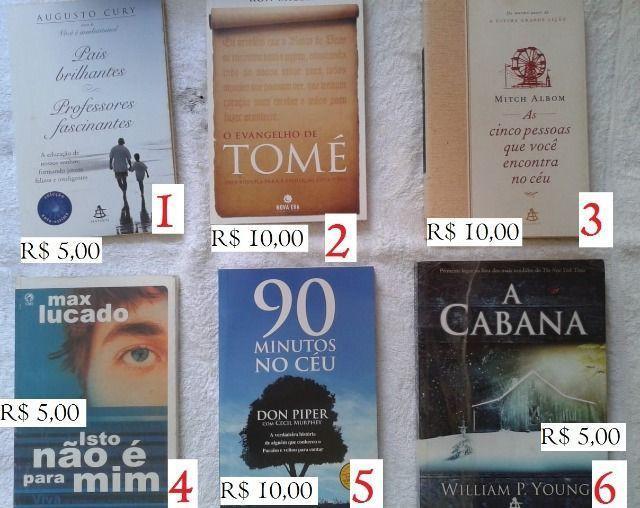 Combo livros cristãos - lote 1