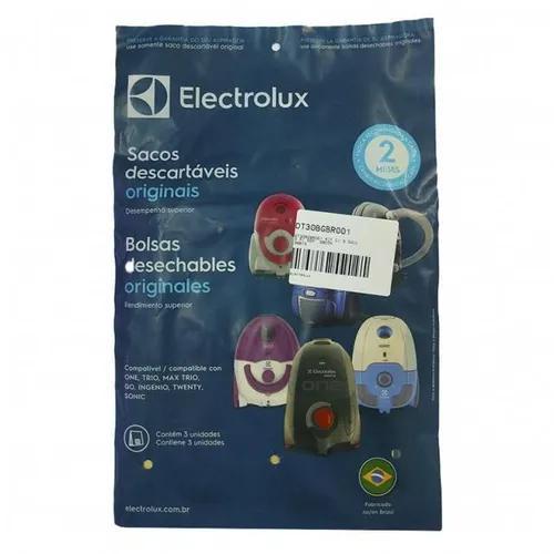 Descartável c/ 3 sacos para asp electrolux
