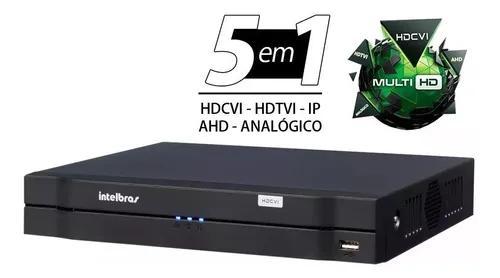 Dvr gravador 8 canais intelbras mhdx 1108 multi hd novo