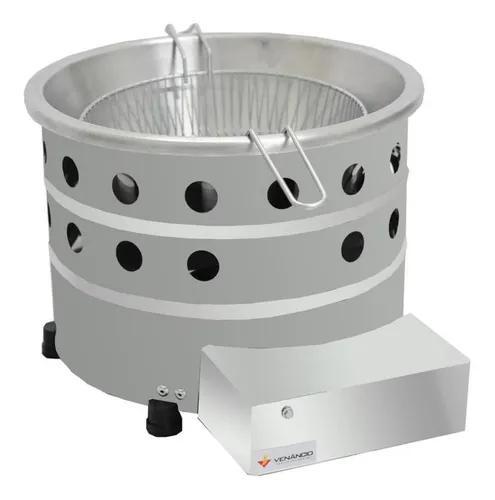 Fritador tacho 3l óleo tgp 3 venâncio gás inóx frete