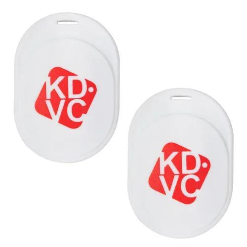 Kit com 2 localizador kdvc mini para carteira chaveiro pet