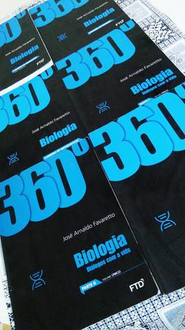Livro biologia: diálogos com a vida - ftd - coleção 360º