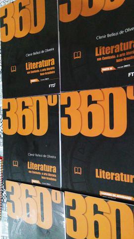 Livro literatura em contexto - ftd - coleção 360º