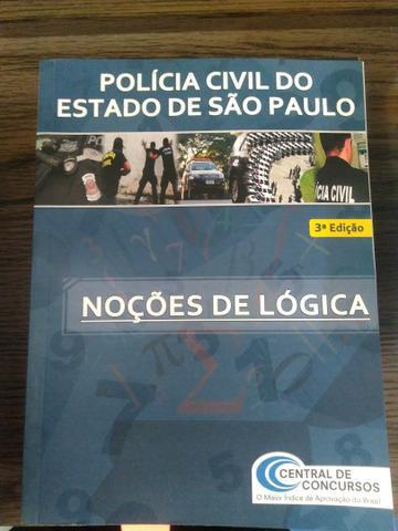 Livros pm, polícia cívil e sap.