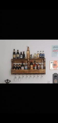 Porta taça e bebidas