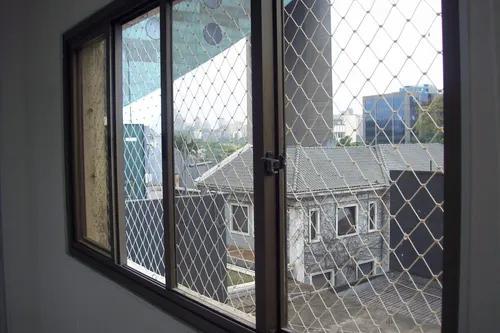 Rede tela de proteção janelas com corda 2,50 x 1,60 metros
