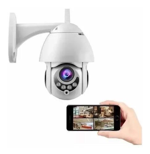 Speed dome câmera ip 1080p full hd wifi a prova d'água