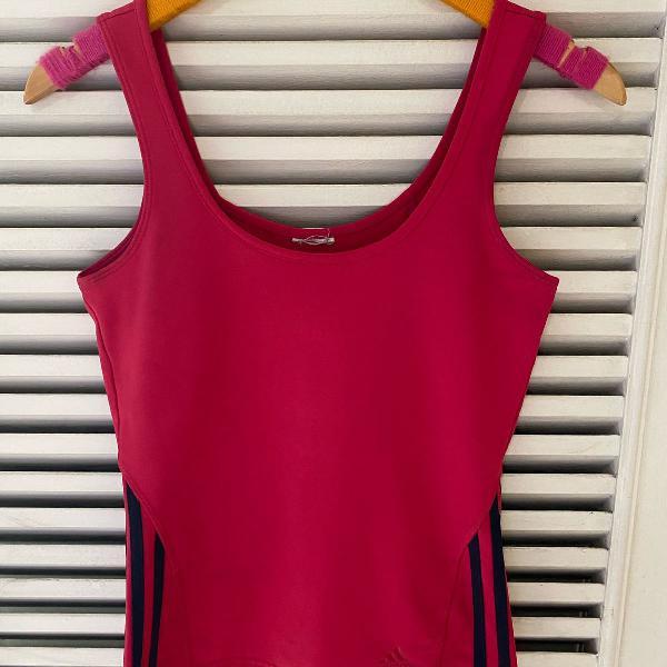 Regata rosa pink adidas esporte academia