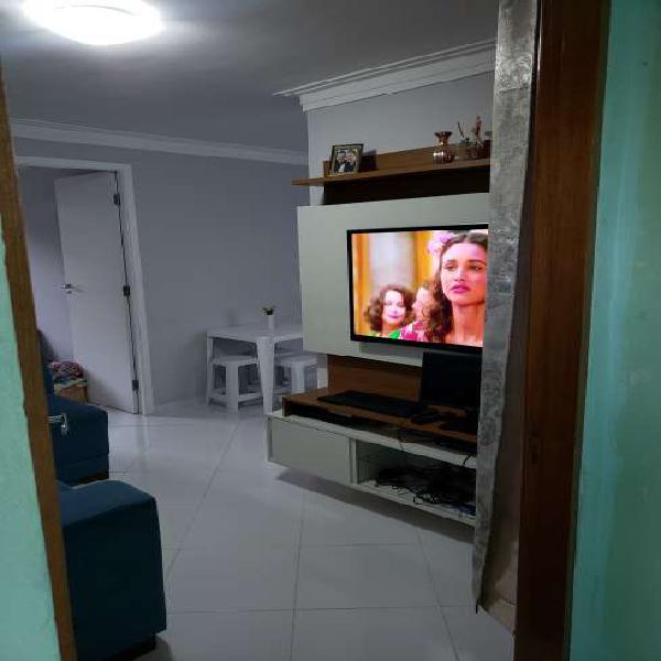 Apartamento para venda com 49 metros quadrados com 2 quartos