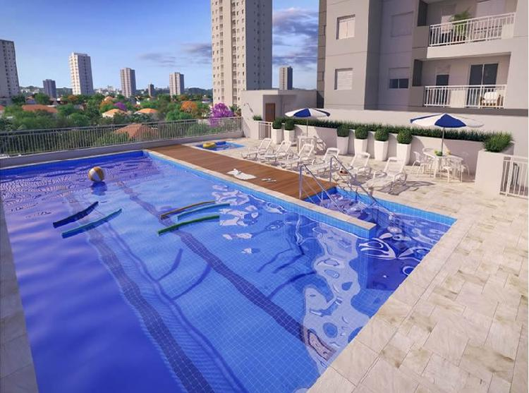 Apartamento para venda tem 46 metros quadrados com 2 quartos