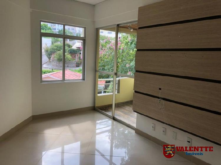 Apartamento semi mobiliado em coqueiros - ap1628