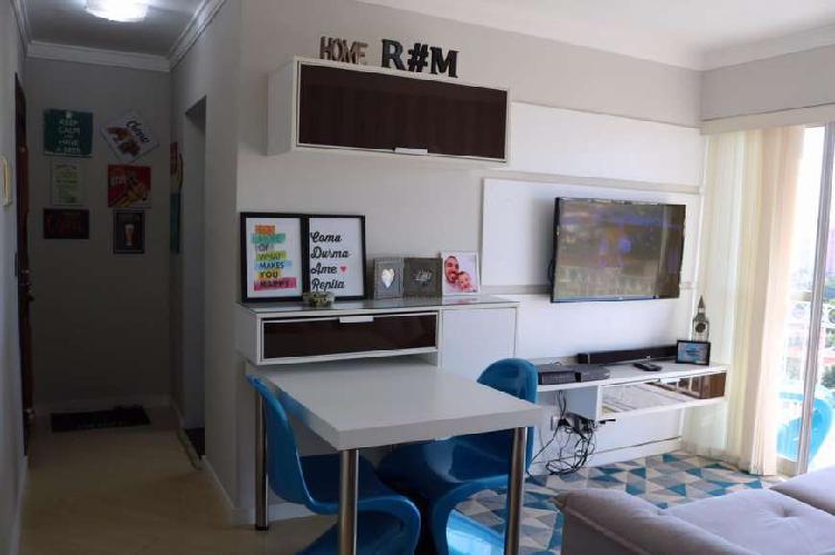 Belíssimo apartamento mobiliado