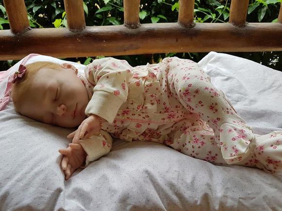 Bebê reborn adotada