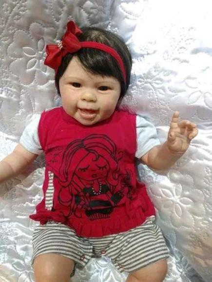 Bebê reborn helô linda promoção