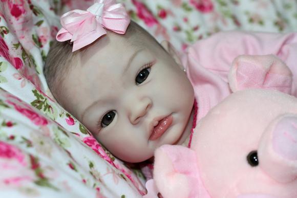 Bebê reborn julia - por encomenda 30 dias
