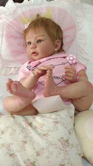 Bebê reborn molde kylin menino e menina corpo de tecido