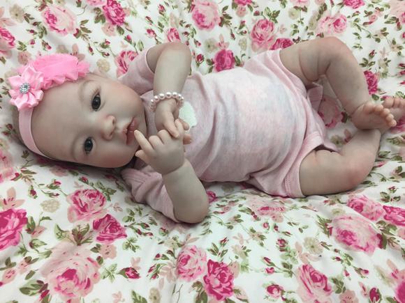 Bebê reborn isadora