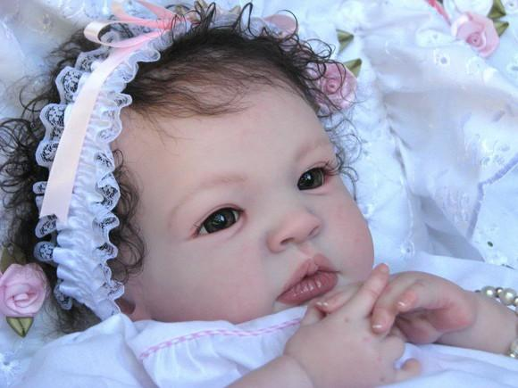 Bebe reborn menina linda a pronta entrega muito realista