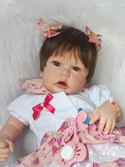Boneca bebê reborn (encomenda)
