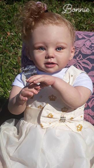 Boneca reborn toddler bonnie