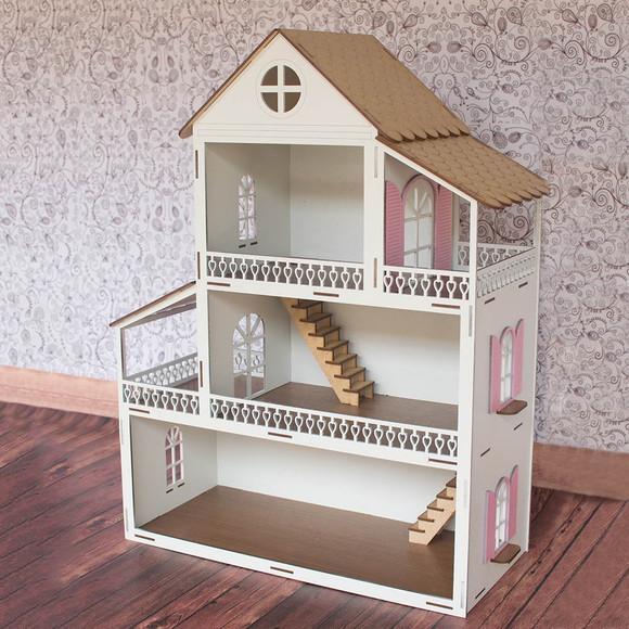 Casinha de boneca polly princesa
