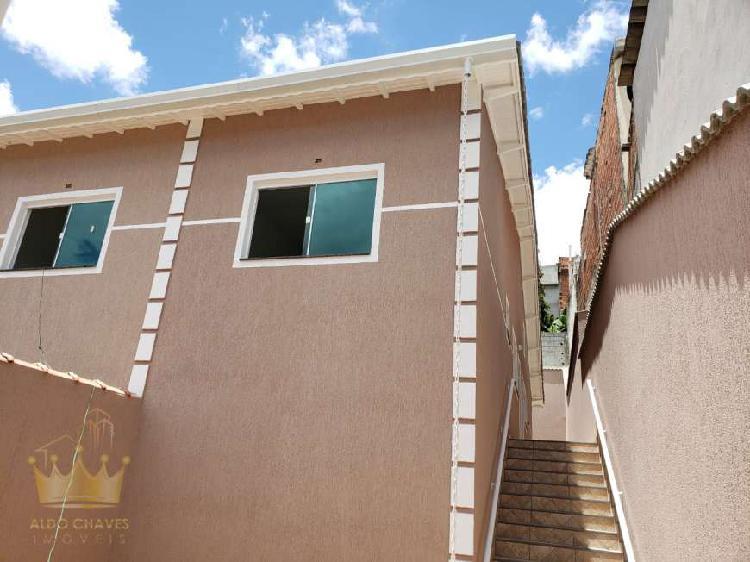 Casa térrea nova 2 dormitórios documentação grátis