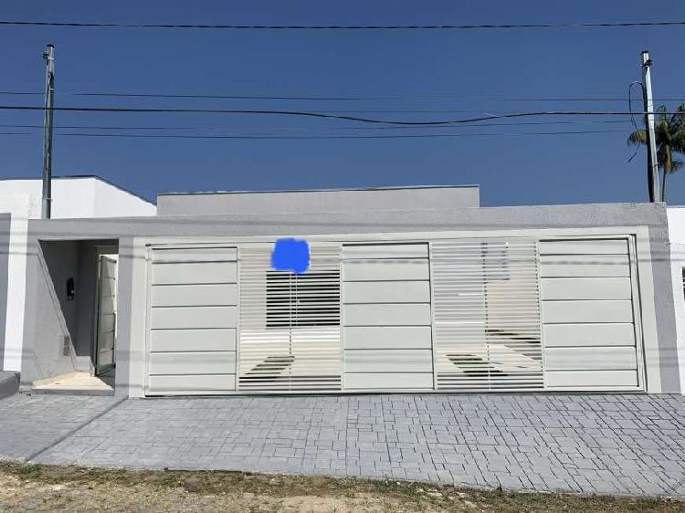 Casa térrea recém construída 120m quadrados (terreno