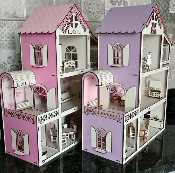 Casinha de boneca da lol