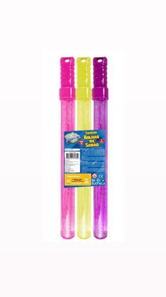 Espada bolhas de sabão coloridas - bubblez