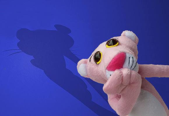 Pantera cor-de-rosa