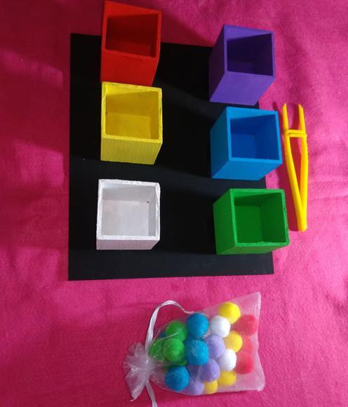 Pinça - pareamento de cor