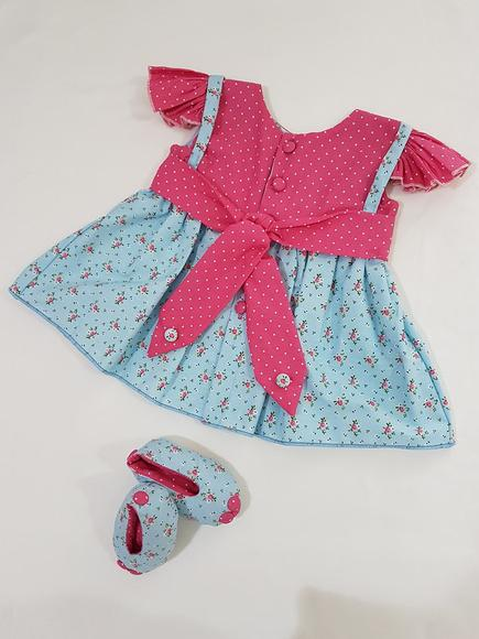 Vestidinho para bebe reborn