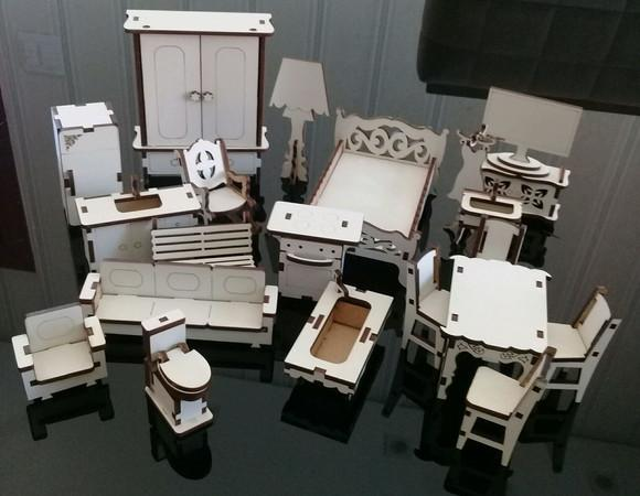 Kit mini móveis