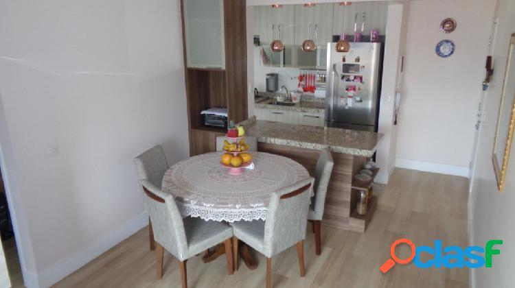 Vende apartamento de 54m² com 2 quartos sendo 1 suites e 2 vagas em jabaqu