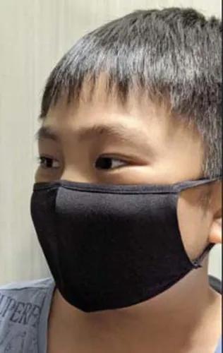 10 máscaras infantil tecido lavável tripla 3 camadas